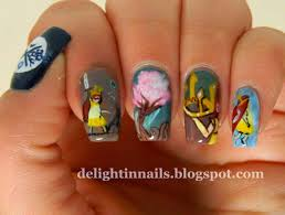 delight in nails child of light nail art