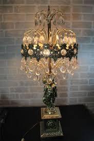 Chandelier Table Lamp Vintage Cherub Lamp Similiar To One My Parents Own Decorative