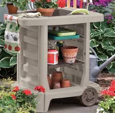 Garden Potting Bench Garden Potting Bench Patio Portable Outdoor Table Station Storage