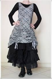 myrine and me robe grise myrine me et jupon ewa i walla noir duduz