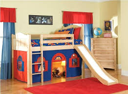 Bunk Beds Tents Bunk Beds With Slide Slides Bed Loft Beds With Slide And Tent