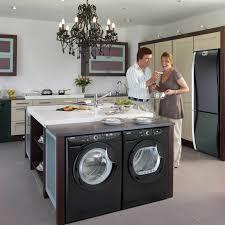 elegant and peaceful kitchen designs with black appliances kitchen