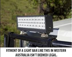 installing led lights in car wa car owners protesting new rules on installation of led light bars