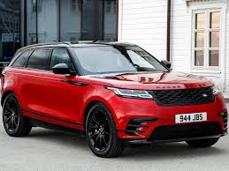 red land rover land rover range rover velar 2018 picture 20 of 219
