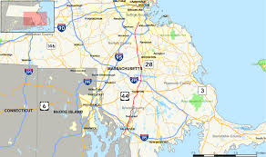 Show Me A Map Of Massachusetts by Massachusetts Route 138 Wikipedia