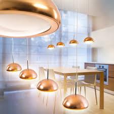 Wohnzimmerlampe Kupfer Design Led Hängelampe Ess Leuchten Küchen Wohn Zimmer Lampe