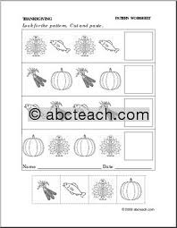 free worksheets pattern worksheets cut and paste free math