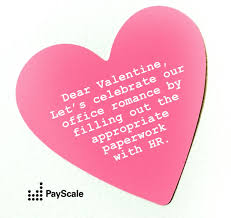 valentines for show your coworkers how you feel with payscale valentines