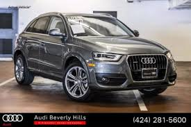 pre owned audi q3 certified pre owned vehicles fletcher jones southern california