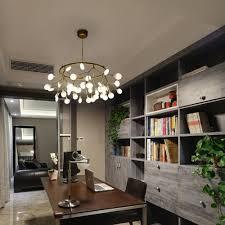 Esszimmerlampen Modern Led Led Pendelleuchte Modern Zweig Form Rund Design 45 Flammig