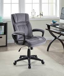 Female Executive Office Furniture Amazon Com Serta Executive Office Chair In Velvet Gray Microfiber