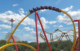Six Flags Roller Coasters List Video Shows Wonder Woman Ride At Six Flags Fiesta Texas Near