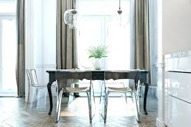 Clear Acrylic Dining Chairs Lucite Dining Room Chairs Breakfast Room Black Chevron Wall Tile