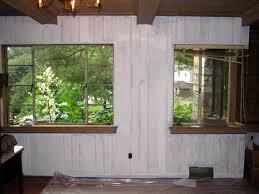 How To Whitewash Wood Paneling Painting Wood Paneling The Lion U0027s Den