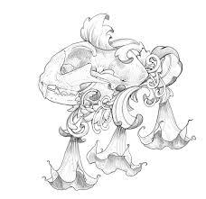 angels trumpet u2013 illustrations