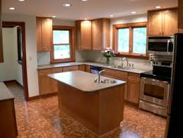 Cork Flooring In Kitchen by Cork Floor Kitchen Remodel New Prairie Construction