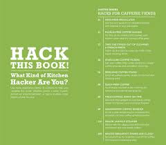 Coffee Hacks by Information For Media U0026 Booksellers Kitchen Hacks