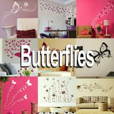 wall decals stickers home decor home furniture diy butterfly wall stickers home transfer butterflies graphic decal decor stencil