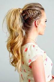coolest girl hairstyles ever side fishtail ponytail the coolest ponytail hairstyles ever