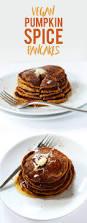 halloween pancakes vegan pumpkin pancakes minimalist baker recipes