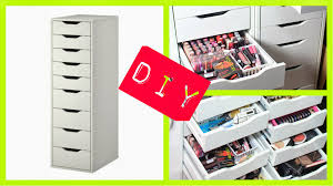Ikea Collection Diva Makeup Queen Diy Ikea Alex Drawers For Makeup Collection