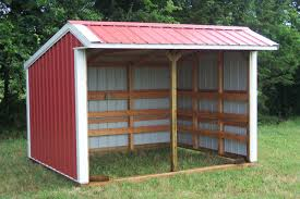 appealing simple shed design come with brown striped pattern shed