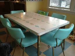 Retro Kitchen Sets by Kitchen Style Retro 50s Blue Soda Fountain Dining Set Classic