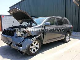 2002 toyota highlander parts parting out 2008 toyota highlander stock 3070yl tls auto