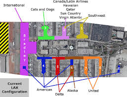 lax gate map delta s plan to move to terminals 2 and 3 at lax would solve a lot
