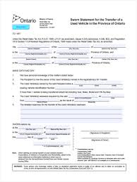 Hdfc Power Of Attorney Filled Sample by 4 Vehicle Transfer Form Samples Free Samples Examples Format