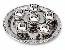 passover seder set passover gifts diamond passover seder set stainless