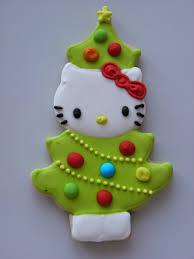 Hello Kitty Christmas Lights by Keksi Cookies Blogspot Com Hello Kitty Christmas Cookies