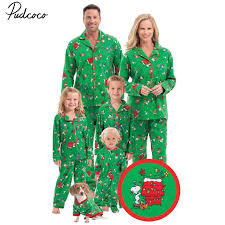 new years pjs 2017 new year christmas element printing family matching pajamas set