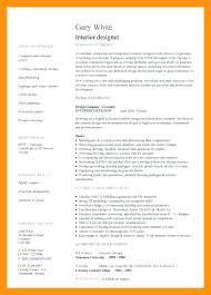 interior design resume exles sle resume of interior designer topshoppingnetwork