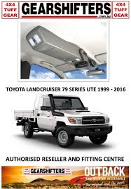 land cruiser pickup accessories outback accessories roof console 4x4 toyota landcruiser 79 series
