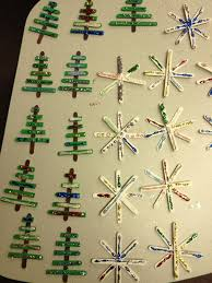 mrs hodge and kindergarten ornaments and a