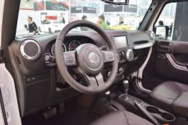 jeep sahara 2016 interior jeep wrangler rubicon interior at 2016 bologna motor show indian