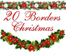 free christmas clipart borders for word clipartxtras