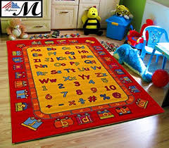 Abc Area Rugs Mybecca Abc Rugs Playtime Area Rug 5 X 8