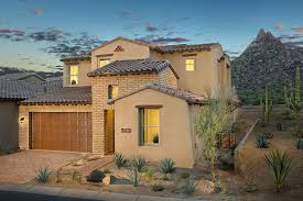 Patio Homes Phoenix Az by Summit At Silverstone New Homes In Scottsdale Az