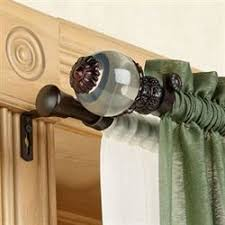Double Curtain Rods On Sale Decorative Rods And Tiebacks Touch Of Class