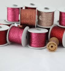 metallic ribbon metallic braided ribbon 1 8 width angela liguori