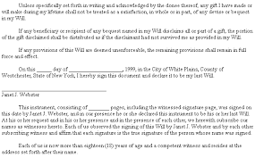 example document for last will u0026 testament