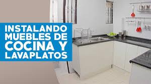los siete pasos necesarios para poner a cocina leroy merlin en accion cómo instalar muebles de cocina y lavaplatos