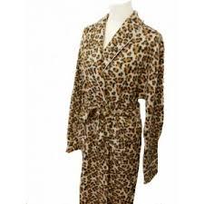 robe de chambre originale robe de chambre en polaire imprimé léopard la vie chonchon