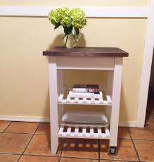 Small Kitchen Cart by Diy Ikea Kitchen Cart U2014 Four Threads