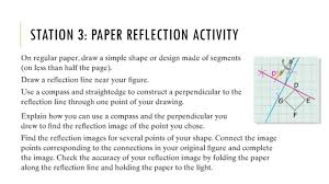 Glide Reflection Worksheet Do Now Monday May 9 Th Reflecting On This Past Year What