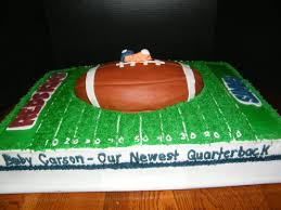football themed baby shower football themed baby shower cake cake by judy remaly cakesdecor