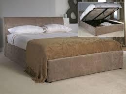 storage ottoman beds single double king at mattressman
