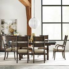 Kincaid Dining Room Furniture Kincaid Furniture Wildfire Seven Piece Dining Set With Extendable